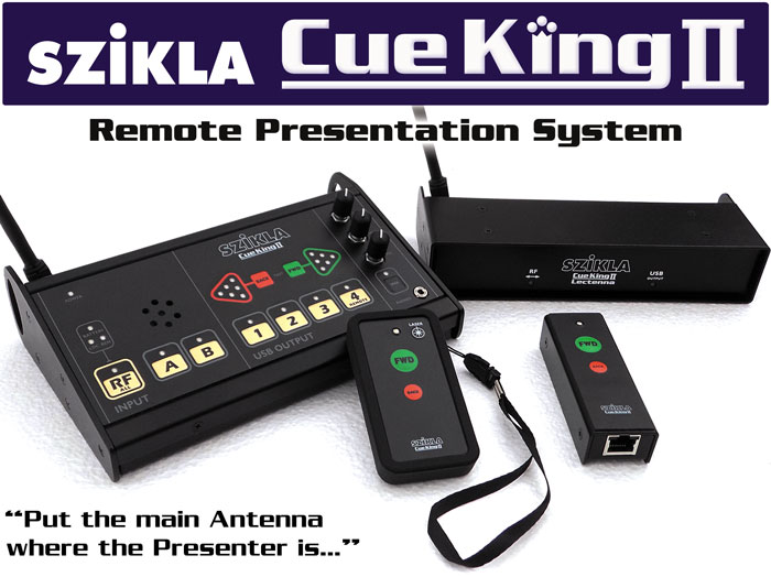 Cue King 2 Remote Presentation System