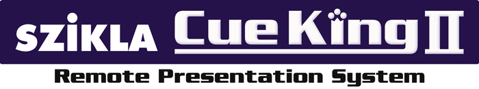 Szikla Cue King 2 Remote Presentation System